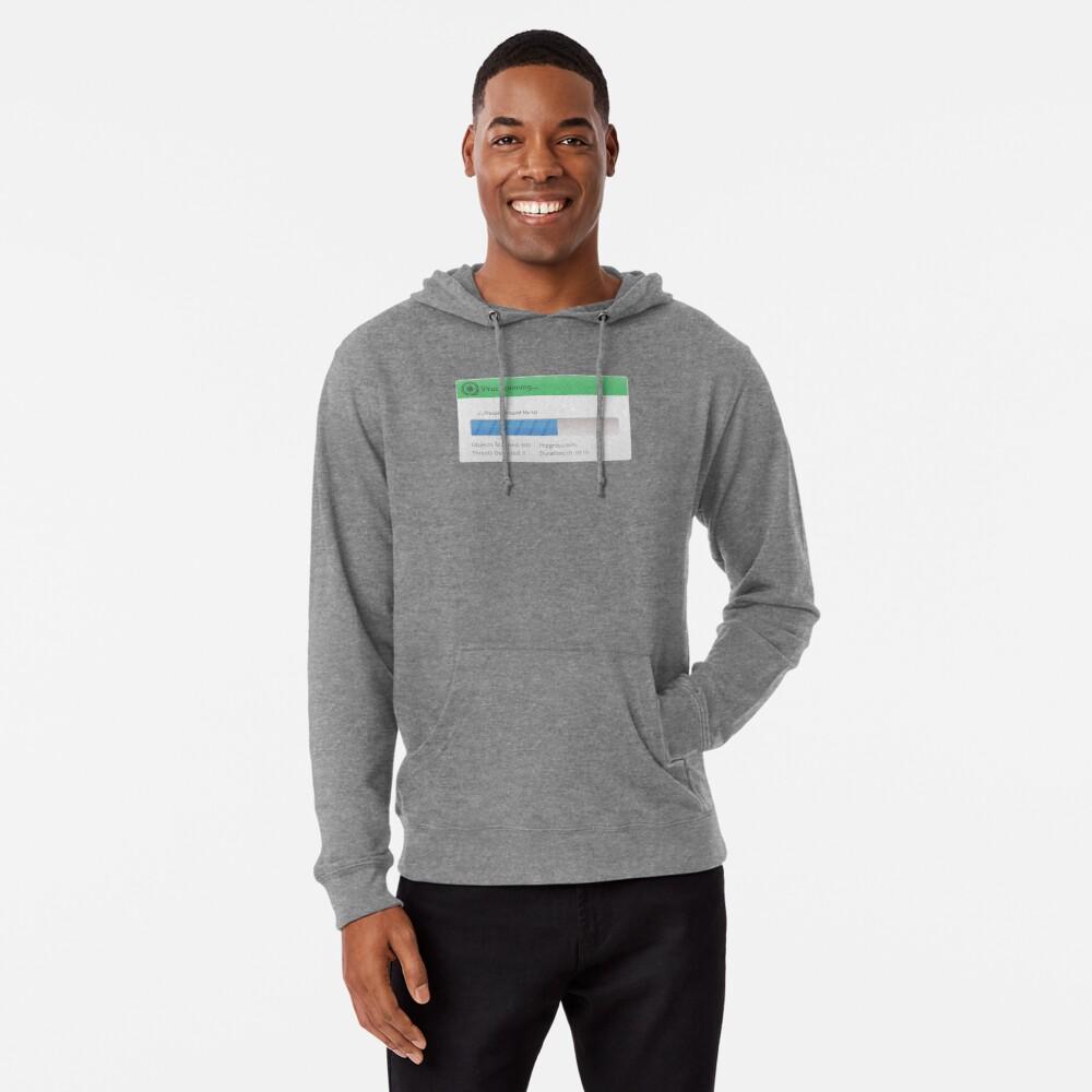 Cool geeky gifts- Virus scanning hoodie