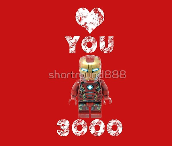 I Love You 3000 design - ideal for gifts